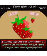 Strawberry Script for PSP Commercial Use OK - $3.00