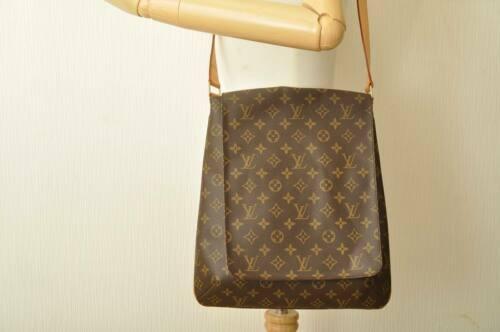 LOUIS VUITTON Monogram Musette Shoulder Bag M51256 LV Auth 10485 image 11