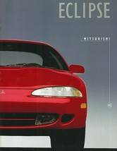 1995 Mitsubishi ECLIPSE brochure catalog US 95 RS GS GS-T GSX - $8.00