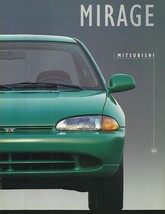 1995 Mitsubishi MIRAGE sales brochure catalog US 95 S LS Coupe - $6.00