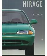1995 Mitsubishi MIRAGE sales brochure catalog US 95 S LS Coupe - $6.00