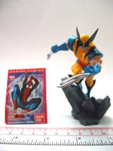 MARVEL SuperHeroes X-men 2 Wolverine Figure spiderman Capsule Toy  - $8.99