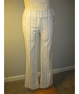 Fashion Bug Stretch Pinstripe Slacks Size 14 - $14.00