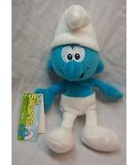 "The Smurfs SOFT CLASSIC SMURF 7"" Plush STUFFED ANIMAL Toy NEW w/ TAG - $18.32"