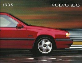 1995 Volvo 850 sales brochure catalog US 95 GLT Turbo - $9.00