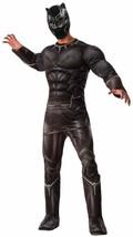 Black Panther Captain America Civil War Fancy Dress Up Halloween Adult Costume - $68.48
