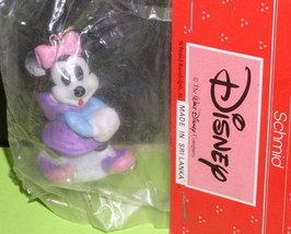 Disney Minnie Mouse Schmid Ice Skating Fgurine - $15.99