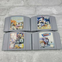 Nintendo 64 Game Lot of 4 Loose Authentic N64 Loose Cart, Star Wars, Gre... - $26.98