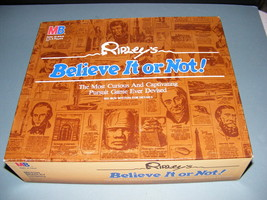 1984 Ripley's Believe it or Not! Game - $30.00