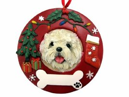 E&S Pets Cairn Terrier Personalized Christmas Ornament - $14.95