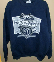 Vtg Mens NY Yankees Sweatshirt 2000 Subway Series Bragging Rights XL Lee MLB - $23.02