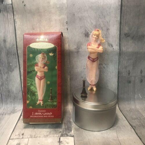 I Dream of Jeannie W/ Bottle Hallmark Keepsake Ornament Barbara Eden 2000