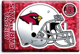 Arizona Cardinals Football Team 4 Gang Light Switch Plate Covers Room Home Decor - $16.19