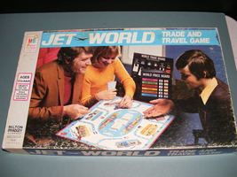 1975 Jet World Trade and Travel Game - $52.00