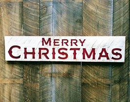 """48""""x10"""" Merry Christmas Sign-Large Porch Holiday Decor - $105.05"""
