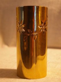 Partylite Floral Tracery Brass Party Lite