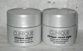Clinique Smart Broad Spectrum SPF 15 & Smart Night Custom-Repair Moisturizer Set - $19.98