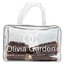 Olivia Garden CERAMIC Plus ion Bag with 4 Round Thermal Brushes 24/34/44... - $109.00