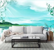 3D Blauer Himmel, See 356 Fototapeten Wandbild Fototapete BildTapete Familie - $51.18+