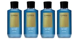 Bath & Body Works Cypress 2 in 1 Hair & Body Wash for Men 10 fl oz  x4 - $37.99