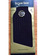 Esquire Mens Dress Socks The Governor Brown Cordovan 10-14 Vintage Box New - $34.65
