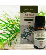 Tea Tree Essential Oil 100% Natural Pure Aromatherapy Antiseptic 10 ml 0... - $13.41