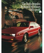 1989 Isuzu IMPULSE sales brochure catalog US 89 Turbo Piazza - $10.00