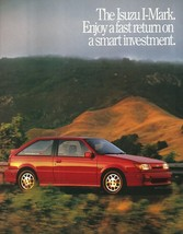1989 Isuzu I-MARK sales brochure catalog US 89 XS RS LS Gemini Lotus - $6.00