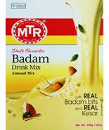 MTR  Badam Drink Mix  200 Gm  Almond Mix  With Real Almond Bits & Kesar - $11.05