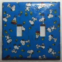 Peanuts Snoopy Woodstock Light Switch Power Outlet Wall Cover Plate Home Decor image 4