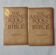 The Missing Books Of The Bible Volume I And II Halo Press Paperback 1996  - $14.80