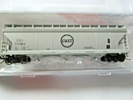 Intermountain # 67079 C&EI 4650 3-Bay Covered Hopper N-Scale image 1