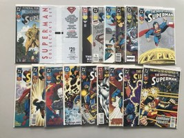 Lot of 16 Adventures of Superman (1987) from #499-513 VF Very Fine - $34.65