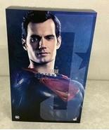 HOT TOYS Movie Masterpiece Figure 1/6 Scale JUSTICE LEAGUE SUPER MAN - $432.63