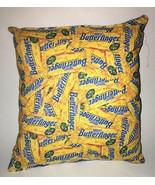 Butterfinger Pillow Nestle Butterfingers Candy Pillow HANDMADE Man Cave ... - $9.99