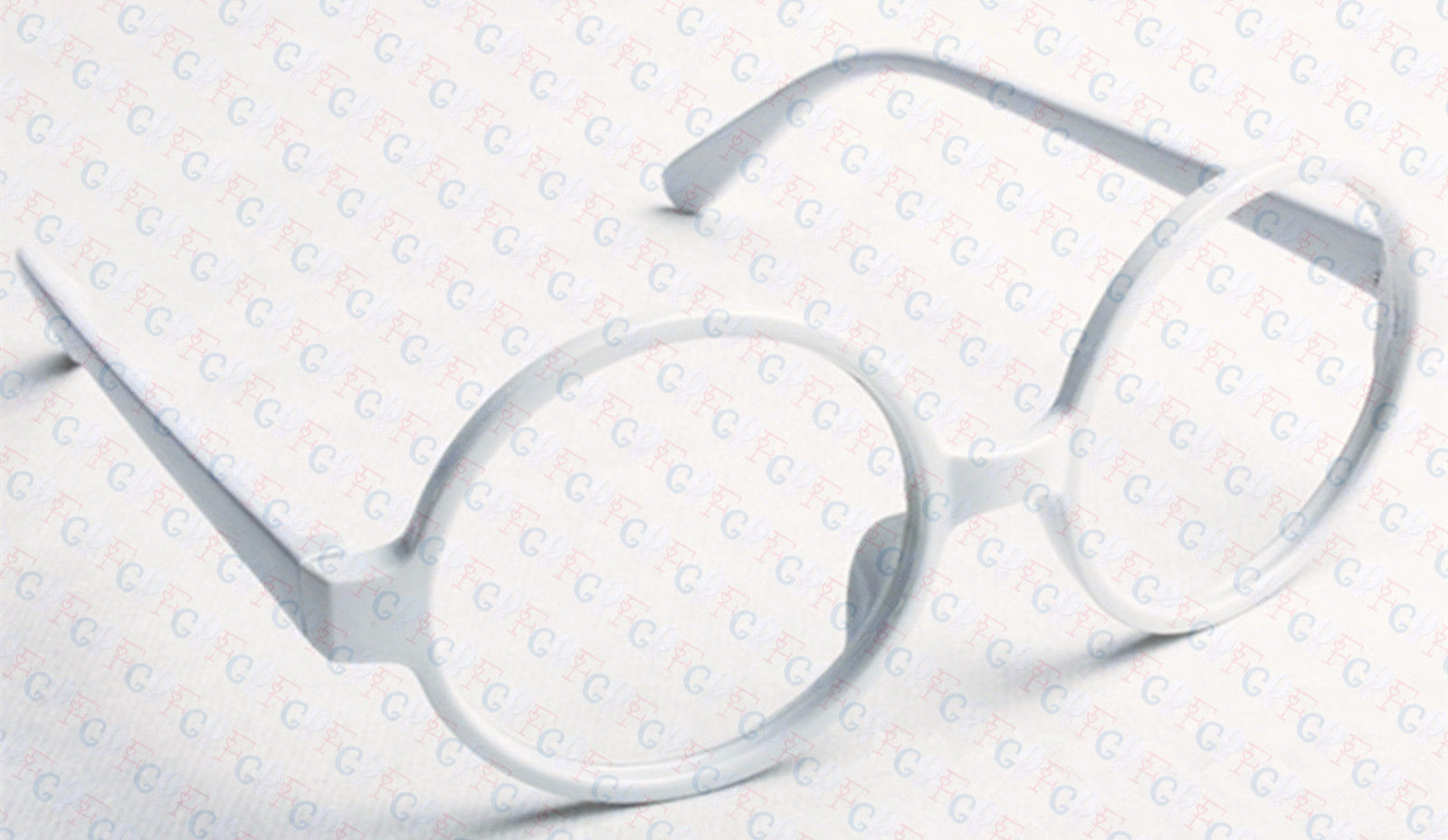 Classic Vintage Round Wizard Costume Nerdy Glasses Frames NO LENS Spectacle Wear image 9