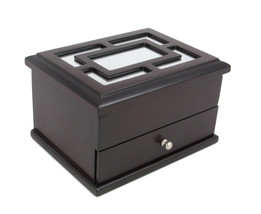 Top Quality Unisex Watch and Jewelry Box New Gift (Black Honey)  - €54,43 EUR