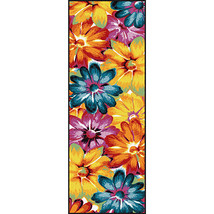 Beautiful Unique Floral Runner Rug  - $156.99
