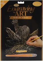 """Gold Foil Engraving Art Kit 8""""X10""""-Deer - $9.19"""