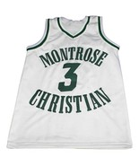 Kevin Durant #3 Montrose Christian New Men Basketball Jersey White Any Size - $44.99+