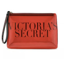"""Victoria's Secret Beauty Bag Red """"Intense"""" See Through Cosmetic Makeup Case - $14.84"""