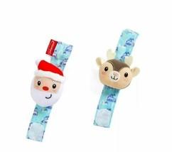 Infantino Go gaga! Holiday Wrist Rattles - $9.99