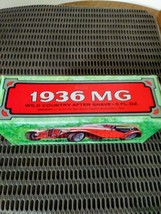 Avon Collectors Bottle 1936 Red MG Car Bottle Wild Country After Shave Bottle wi image 6
