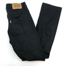 Levi's 511 Denim Jeans Boys 14REG W27xL27 Black 5-Pocket Zip Fly Slim Fi... - $18.95