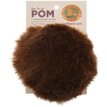 Lion Brand Yarn 602-126 The Pom single, Mink - $10.36