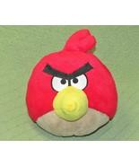 "ANGRY BIRDS RED PLUSH 8"" ROVIO STUFFED ANIMAL CHARACTER COMMONWEALTH 201... - $14.85"