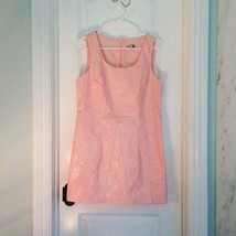 GUESS Pink Pleather Dress 60s Costume VTG Dress - $12.00