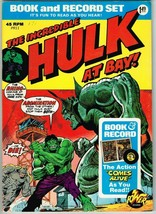 Incredible Hulk Book and Record Set #PR11 (1974) - 7.0 FN/VF *Includes Record* - £19.97 GBP