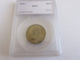 1979-P , Susan B. Anthony Dollar , UC - $6.00