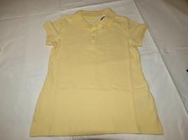 Old Navy Mädchen Jugend Kurzärmeliges Polohemd S 6-7 Gelb Schuluniform 3... - $16.03